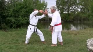 Karaté et énergie interne, avec Bernard Sautarel et Guy Sauvin. Applications du Qi Gong au karaté. Bernard Sautarel, maître en...