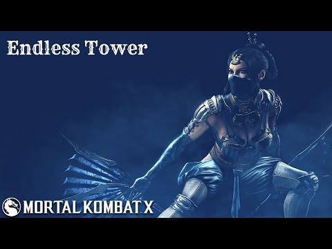 Mortal Kombat X (PS4) Kitana (Mournful) Endless Tower (Post-Patch) (видео)