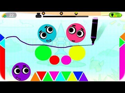 Dibujos de amor - Juegos Para Niños Pequeños - Love Balls - Juego de Pelotitas de Amor