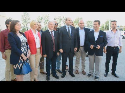 Ο αντιπρόεδρος της  ΝΔ,  Κ. Χατζηδάκης στο Ναύπλιο