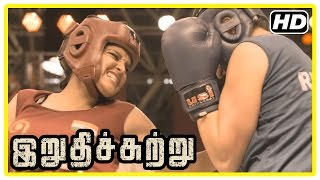 Video Irudhi Suttru Tamil Movie | Climax Scene | Ritika wins the match and gives credit to Madhavan MP3, 3GP, MP4, WEBM, AVI, FLV April 2018