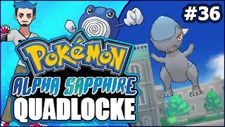 Pokémon AlphaSapphire Randomizer Quadlocke Part 36 | PAYING OUR DOOFUS by Ace Trainer Liam