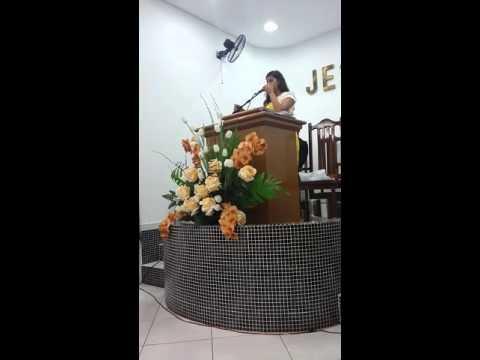 Igreja Assembleia de DEUS em Tupanatinga Irmã Layra Stefanny