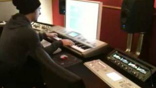 Axwell in studio