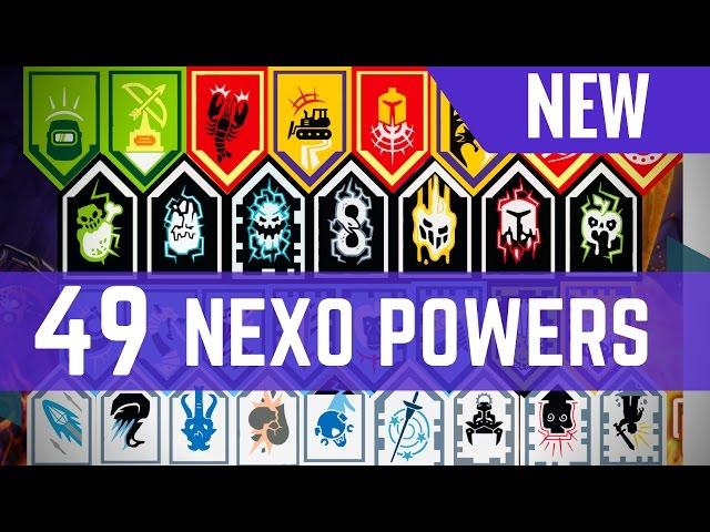 Lego Nexo Power 5 Latest all lego nexo powers nexo shield
