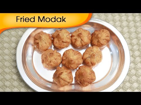Fried Modak – Sweet Coconut Dumpling – Ganesh Festival Special Recipe By Ruchi Bharani