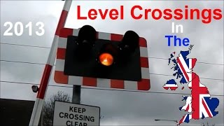 Ware United Kingdom  City new picture : Level Crossing In The UK - 2013
