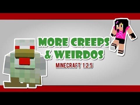 More Creeps & Weirdos [1.2.5] - #Minecraft #Nostalgia