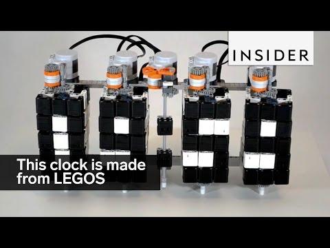 打造自己專屬的LEGO® 時鐘!!有神人級的玩具人要開班授課嗎?!