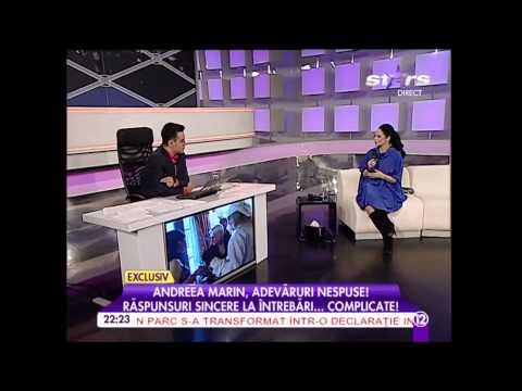 Andreea Marin despre Alege demnitatea si Fii independenta la Agentul Vip, 17.02.2015
