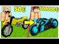 MOTO DA 50 EURO CONTRO MOTO DA 500000 EURO! - Minecraft ITA