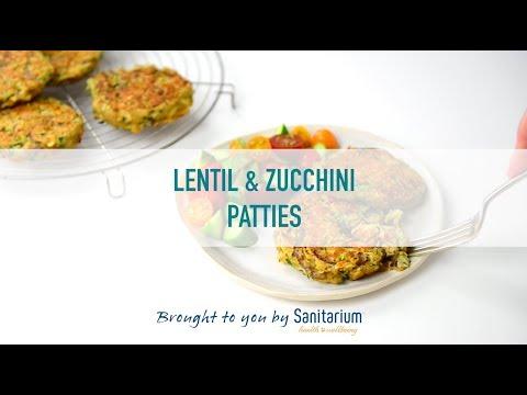 Lentil & courgette patties thumbnail 2