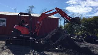 2. Kubota U35 Mini Excavator!