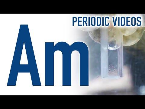 Americium - Periodensystem der Elemente