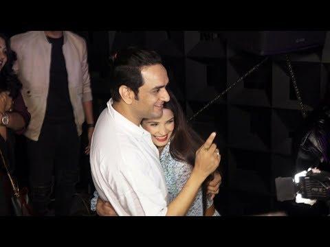 Vikas Gupta And Chetna Pande At Luck Di Kasam Song Launch