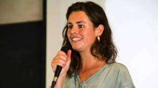 """Joszi's inspiring speech to the congress """"Why Soil Matters """"of the Green Group in the European Parliament in Brussels, 18 November 2015."""