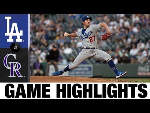 Rockies vs. Dodgers Game Highlights (4/2/21)   MLB Highlights