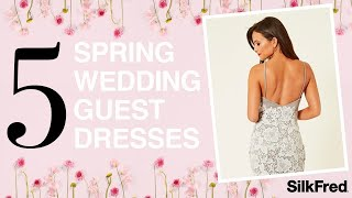 Wedding Guest dresses with SilkFred