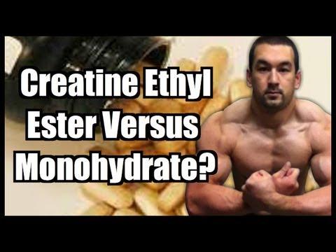Creatine Ethyl Ester Vs. Monohydrate