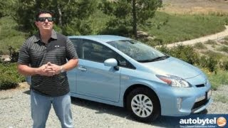2013 Toyota Prius Plug-in Test Drive&Hybrid Car Video Review
