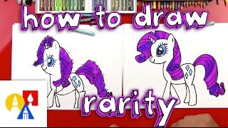 How To Draw Rarity My Little Pony