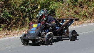 Hmong Wooden Kart Racing รถไม้ม้ง