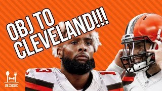 BREAKING: Odell Beckham Jr. Traded to the Cleveland Browns | 2019 Fantasy Football