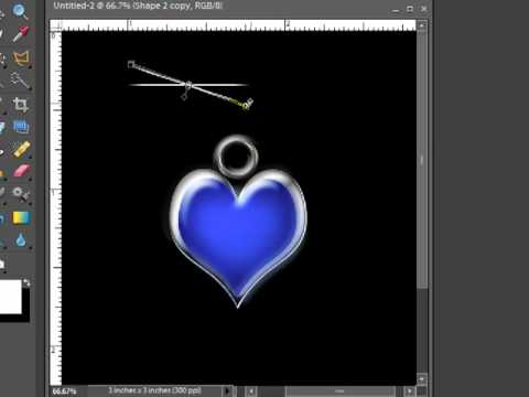 Addding Bling to your Digital Scrapbooking Pages using Photoshop Elements 7