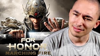 Video Real Shaolin Disciple Reacts to Marching Fire Expansion (For Honor) MP3, 3GP, MP4, WEBM, AVI, FLV Februari 2019