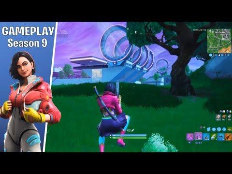 *GAMEPLAY* SEASON 9 ROX SKIN (GamePlay Fortnite) NO COMMENTARY