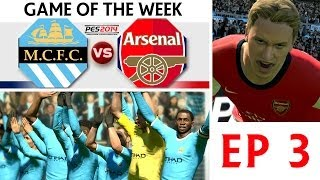 [TTB] PES 2014 - Game Of The Week - Manchester City Vs Arsenal - EP3