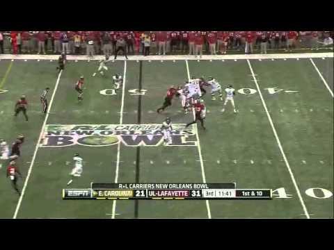 Shane Carden Game Highlights vs Louisiana-Lafayette 2012 video.