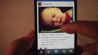 Instagram Android app – video review