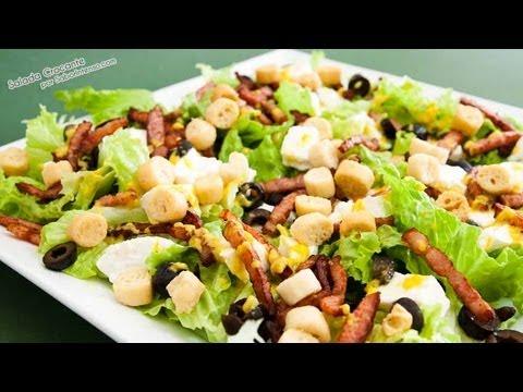 Receita de Salada Crocante