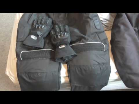 My Winter Motorcycle Riding Gear
