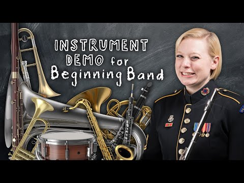 Instrument Demonstration for Beginning Band