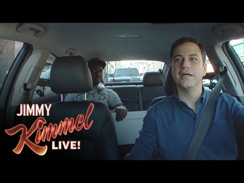 Jimmy - Jimmy got registered as an Uber driver and then took to the streets to give rides and change lives. SUBSCRIBE to get the latest #KIMMEL: http://bit.ly/JKLSub...