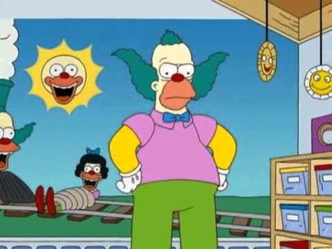 The Simpsons - KRUSTY in the Grinder Treehouse Of Horror XIX--.avi