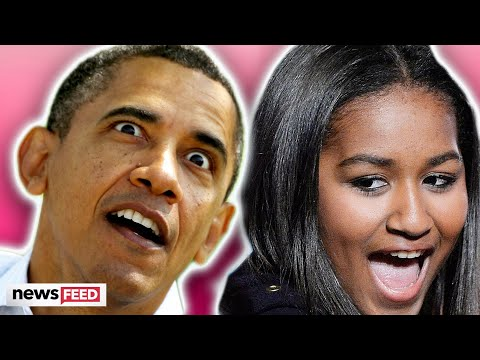 Barack Obama's Scared Of Youngest Daughter For Hilarious Reason!