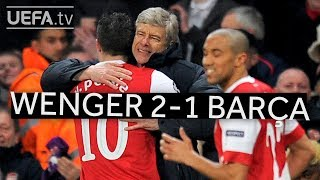 Download Video WENGER'S GREAT VICTORIES: Arsenal 2-1 Barcelona MP3 3GP MP4