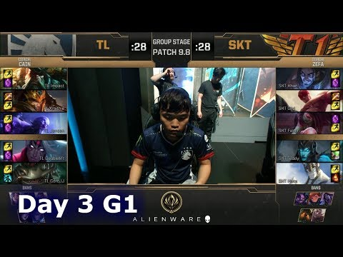 Team Liquid vs SK Telecom T1 | LoL MSI 2019 Group Stage Day 3 | TL vs SKT