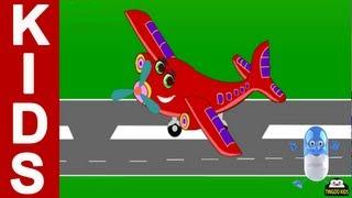 I Am Little Airplane   Kids Songs&Nursery Rhymes With Lyrics (English Language) HD