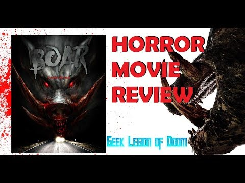 BOAR ( 2018 Nathan Jones ) Giant Creature Feature Horror Movie Review 2017
