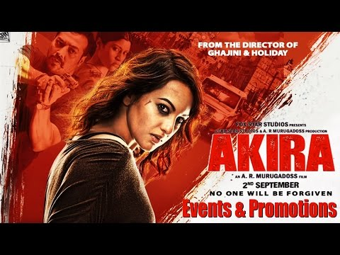 Akira Full Movie 2016 - Sonakshi Sinha, Anurag Kashyap - Events and Promotions