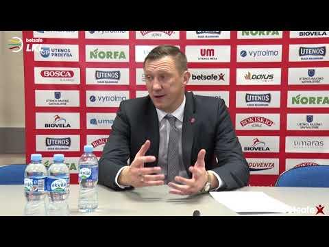 """""""Betsafe–LKL"""" rungtynių komentarai: """"Juventus"""" - """"Skycop"""" [2018-11-17]"""