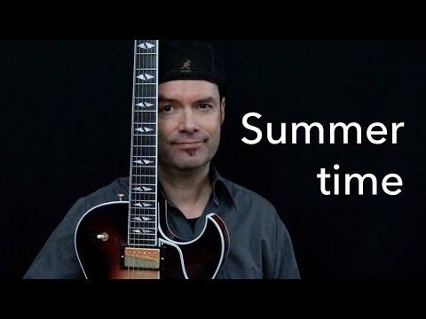 Summertime – Achim Kohl – Jazz Guitar Improvisation with Tabs – Tab N.1