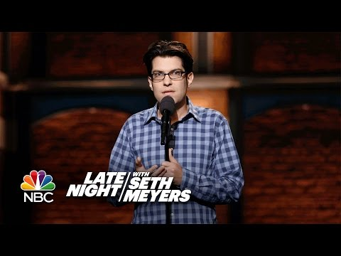 Dan Mintz StandUp on Late Night