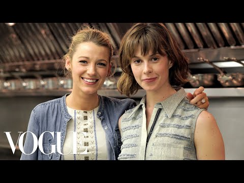 vogue - In this episode, Actress Blake Lively joins Elettra Wiedemann to recreate one of her favorite personal recipes, sausage and brie puff pastry, using locally s...
