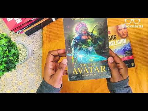 Booknerds Unboxing   Vishwas Mudagal   Losing My Religion   The Last Avatar