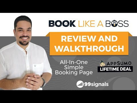 Watch 'Book Like A Boss Review & Walkthrough [AppSumo Lifetime Deal] - YouTube'